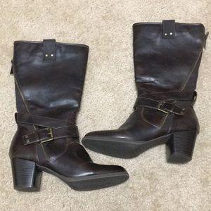 Rialto Brown Boots Size Women's 9